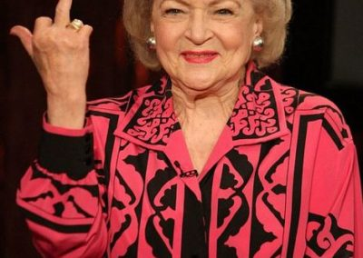 betty white fu