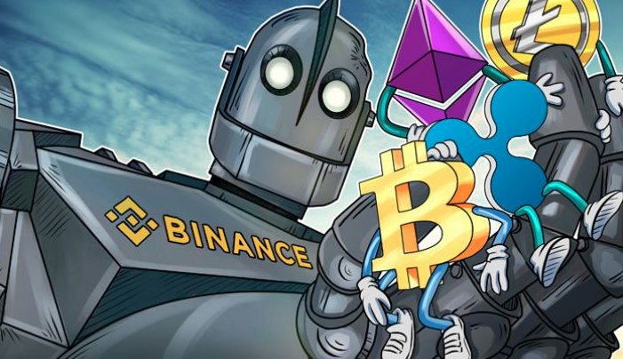 Cointelegraph robot from news of the world